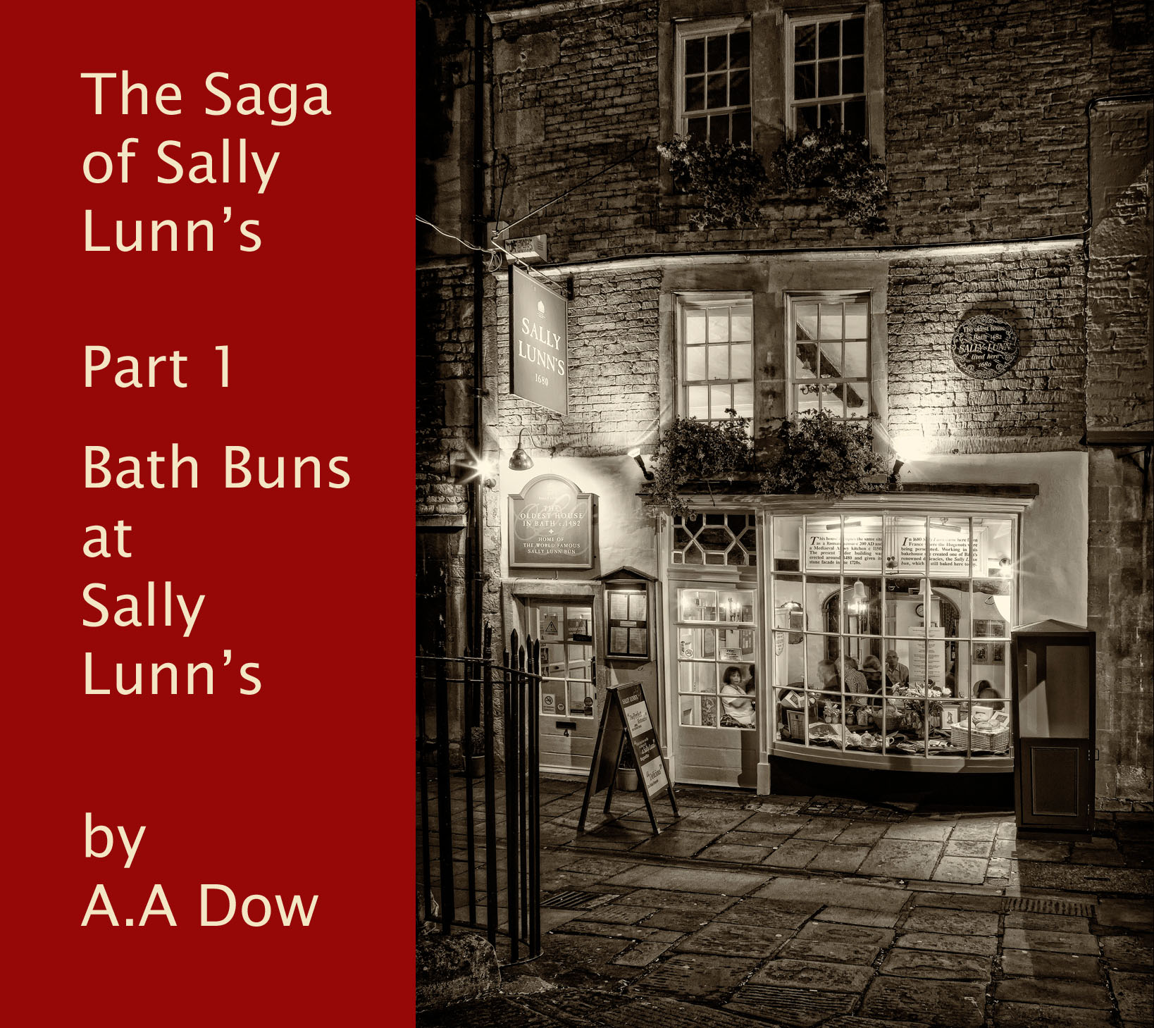 Bath Buns at Sally Lunn's