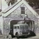 The old fire station not long before the fire brigade moved out. c.1965.