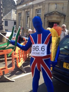 Torch relay morphsuit