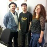 Babajack with Blues Train presenter Dave Watkins
