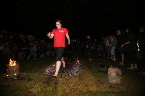SOS Africa Firewalk with FROMEFM Steff Smith