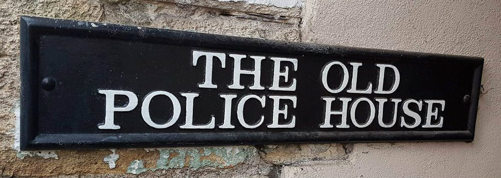 Old Police House banner
