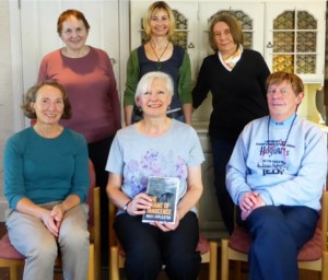 A picture of some of the trustees of FWC with author Nikki Coplestone in the middle front.